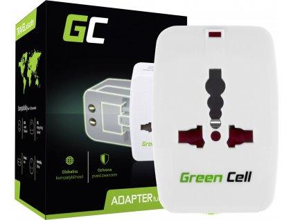 Univerzálny adaptér do zásuviek celého sveta Green Cell ®
