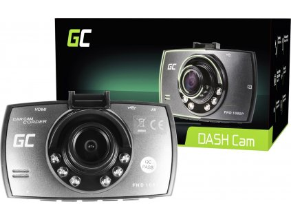 Kamera do auta Green Cell Dash Cam Full HD 1080p s nočným režimom