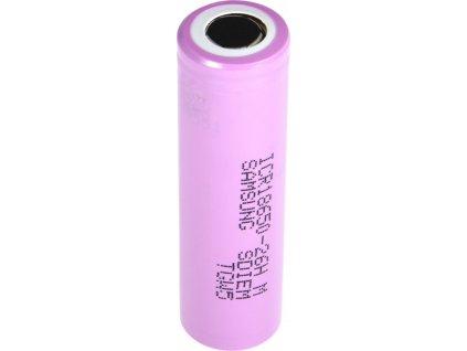Batériové články Li-Ion Samsung ICR18650-26H  2600mAh