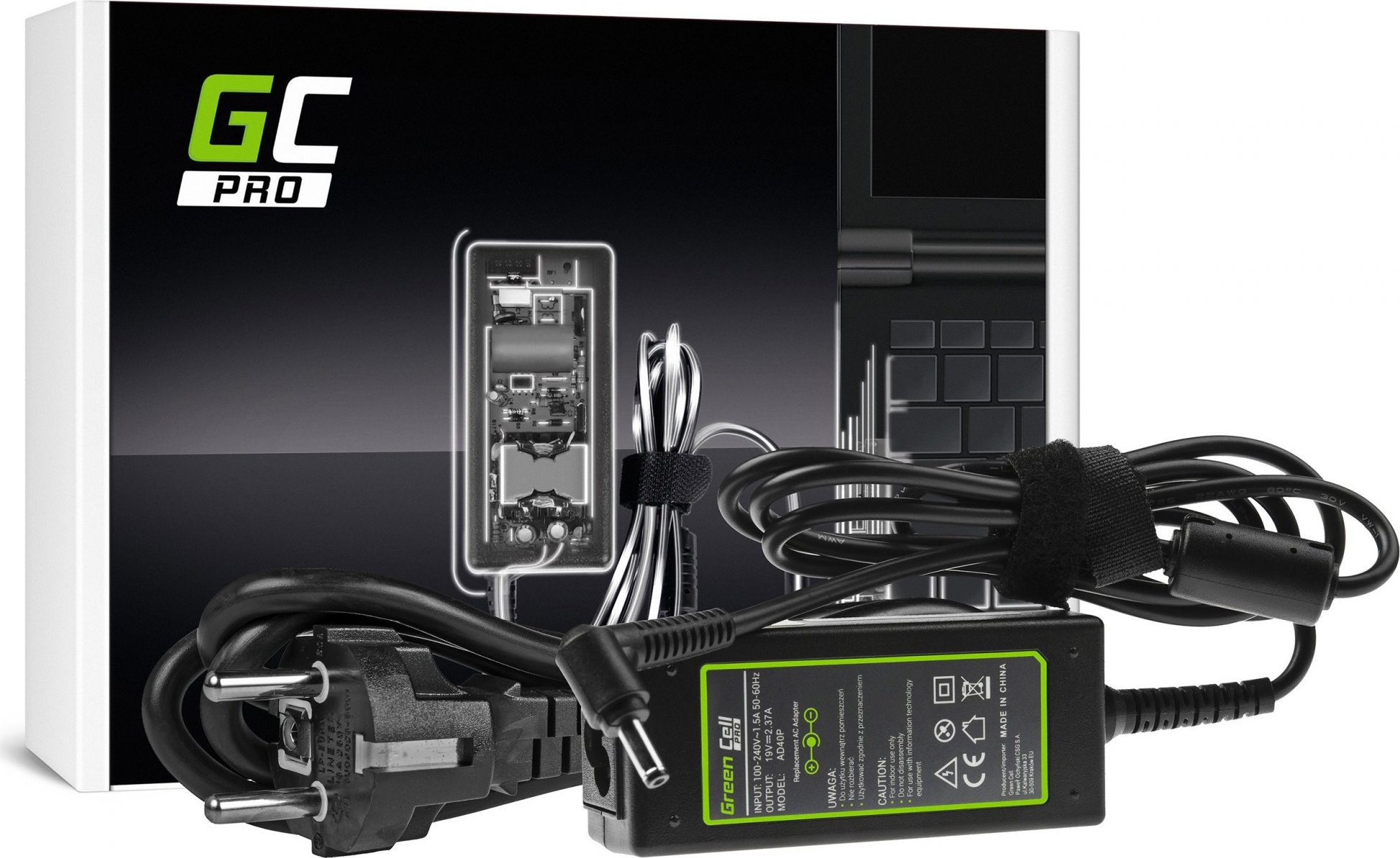 Nabíjačka na notebook Asus F201E, Asus VivoBook Q200, Asus VivoBook Q200E, Asus VivoBook S200 19V 2.37A 45W
