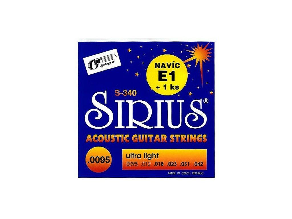 Struny SIRIUS 340