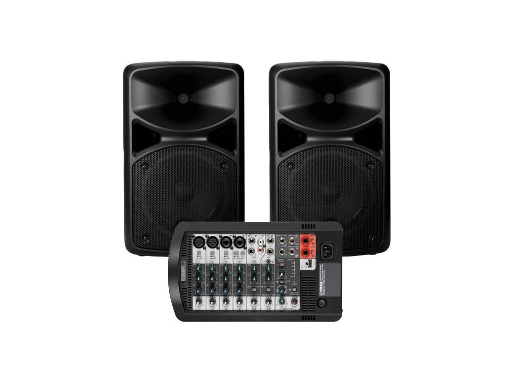 Ozvučovací systém Yamaha Stagepas 400BT