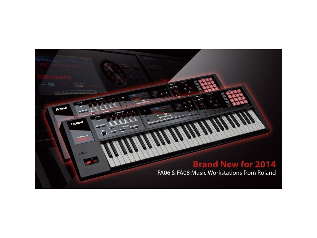 Syntetizátor Roland FA06