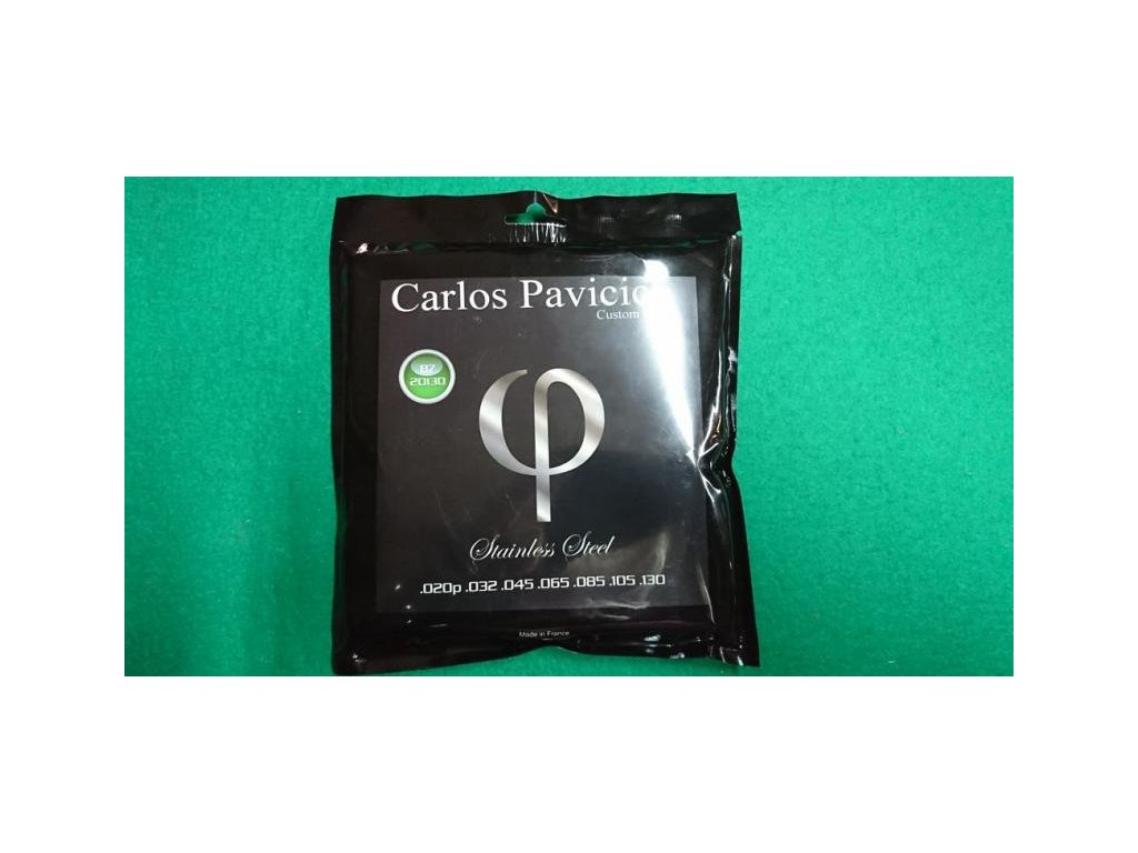 Struny baskytara CPCSB750 Carlos Pavicich