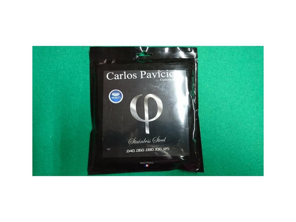 Struny baskytara CPCSB5XL Carlos Pavicich