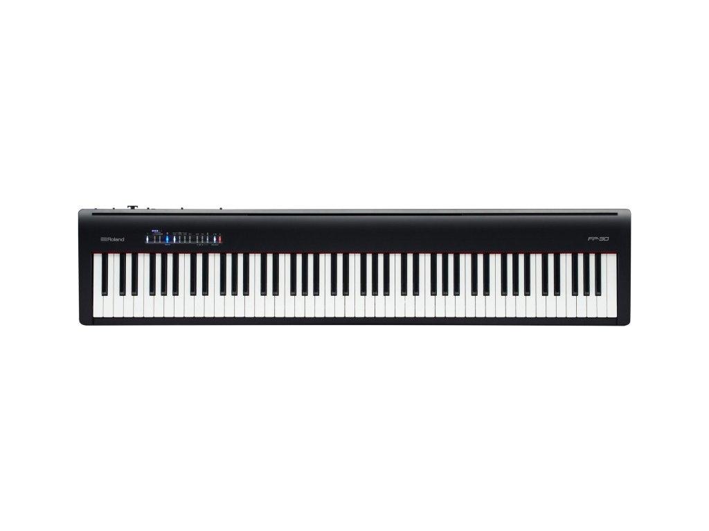 Digitální piano Roland FP30BK