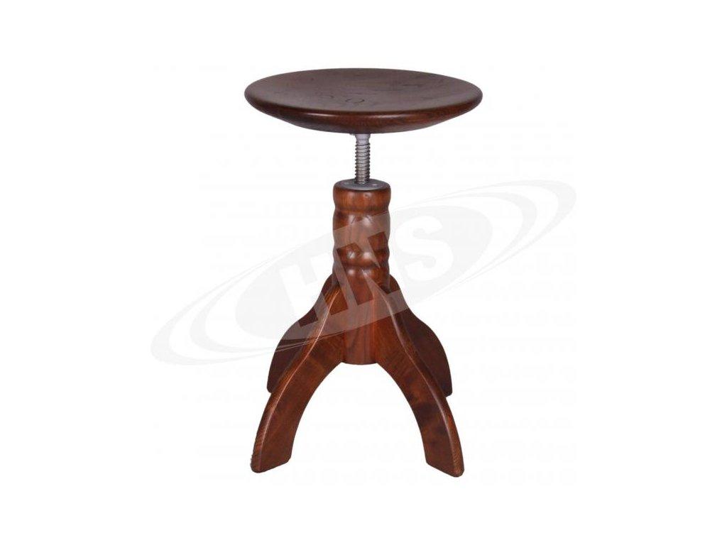 Klavírová židle HNS - model 4/WNT/CD