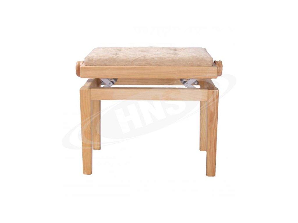 Klavírová židle HNS - model BET/NT/TXT