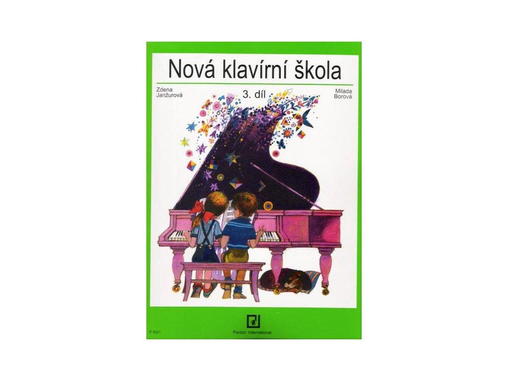 NOVÁ KLAVÍRNÍ ŠKOLA 3 - Janžurová , Borová