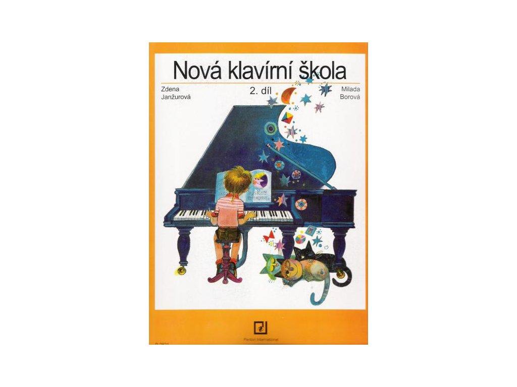 NOVÁ KLAVÍRNÍ ŠKOLA 2 - Janžurová , Borová