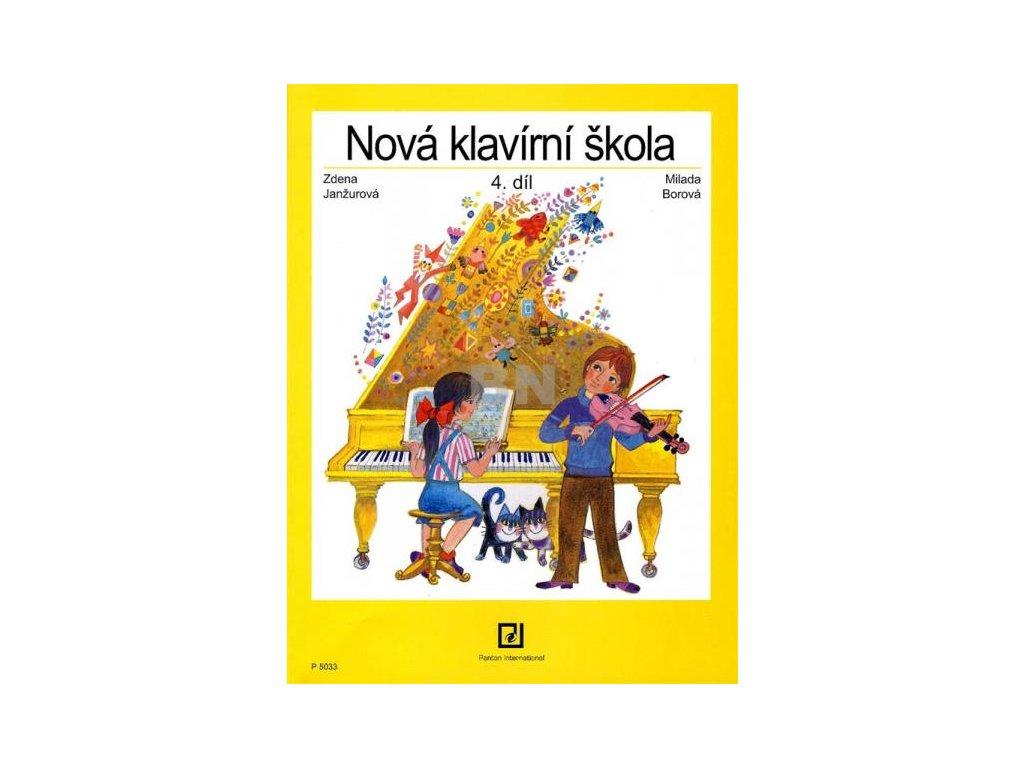 NOVÁ KLAVÍRNÍ ŠKOLA 4 - Janžurová , Borová