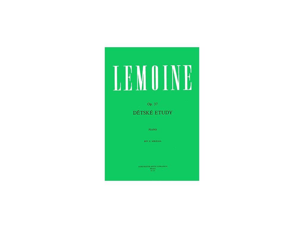 DĚTSKÉ ETUDY - Lemoine Henri