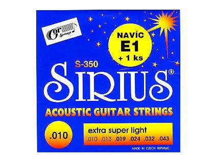 Struny SIRIUS 350