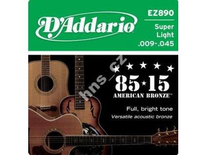 Struny D addario EZ890