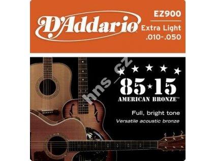 Struny D addario EZ900