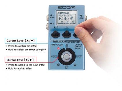 Efekt  Zoom MS70CDR