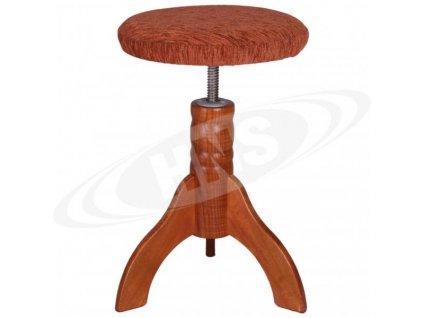 Klavírová židle HNS - model 3/CH/TXT