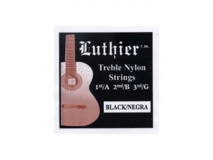 Struny LUTHIER TRE-BLACK