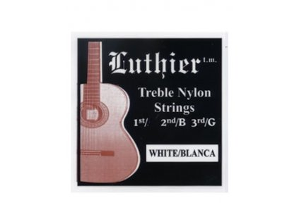 Struny LUTHIER TRE-WHITE