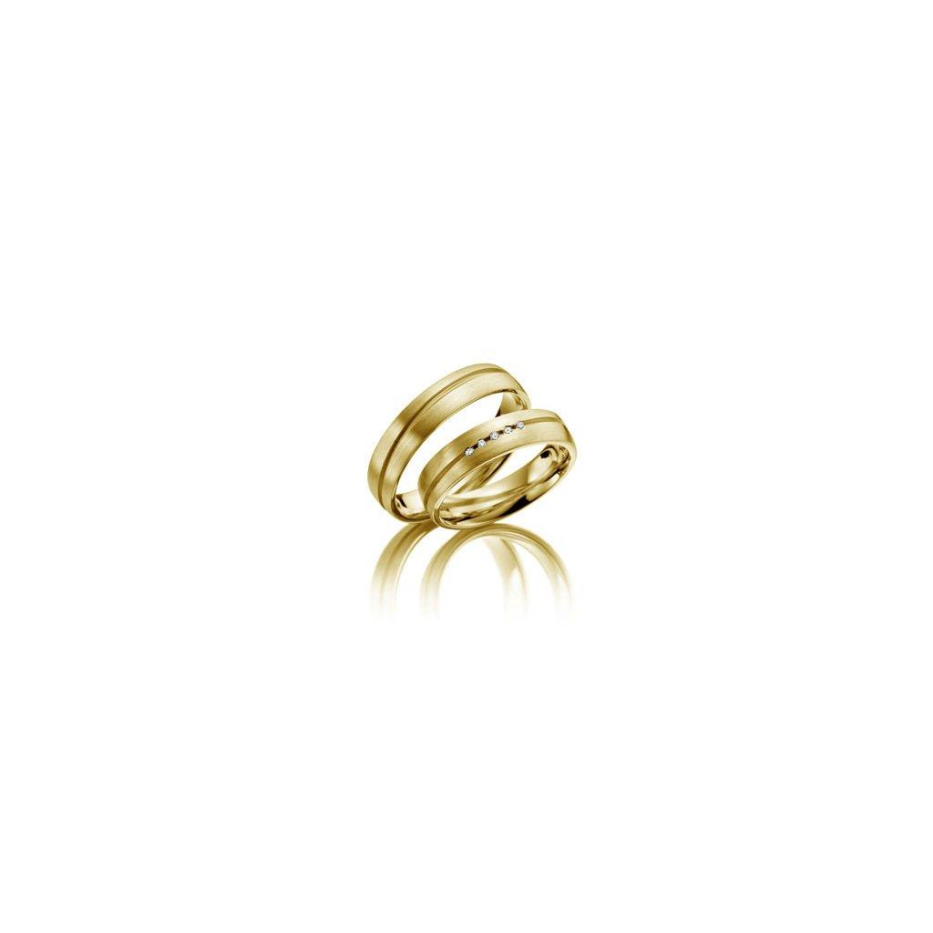 Snubní prsten – model 6