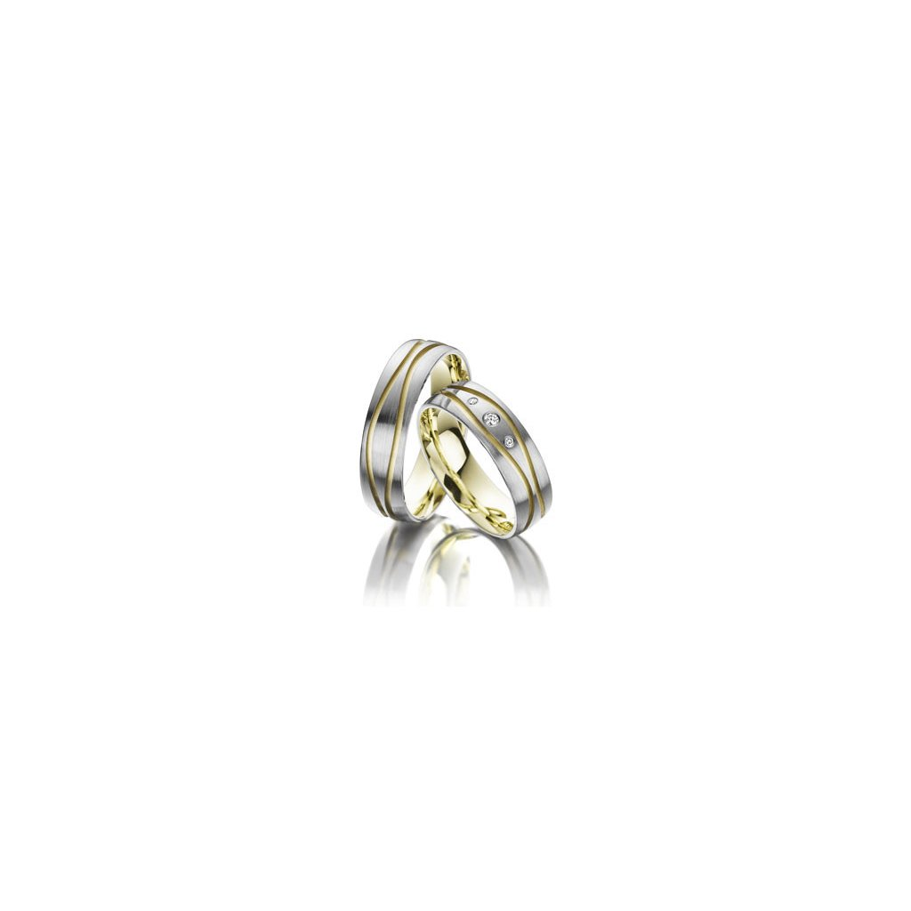 Snubní prsten – model 7ab