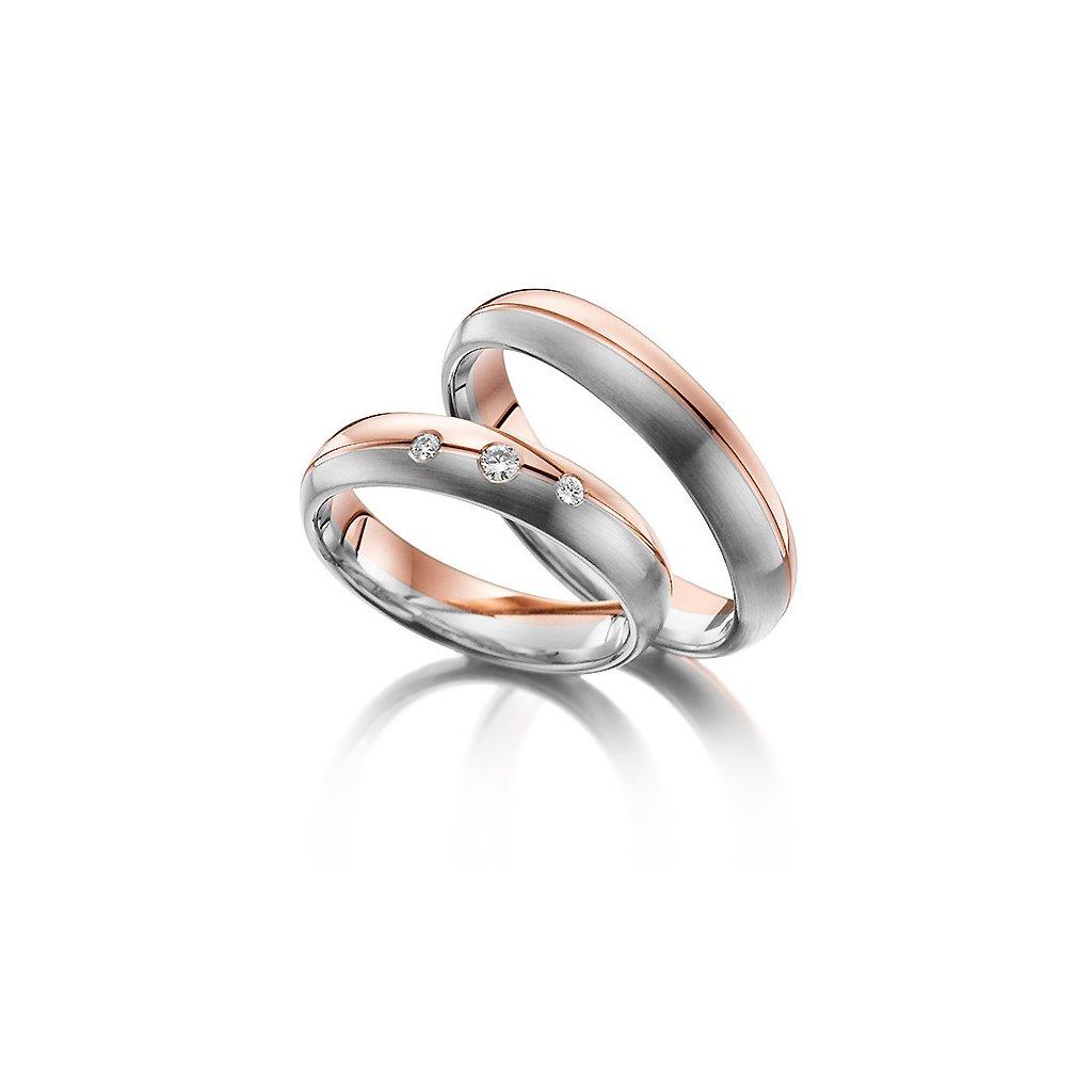 Snubní prsten – model a10ac