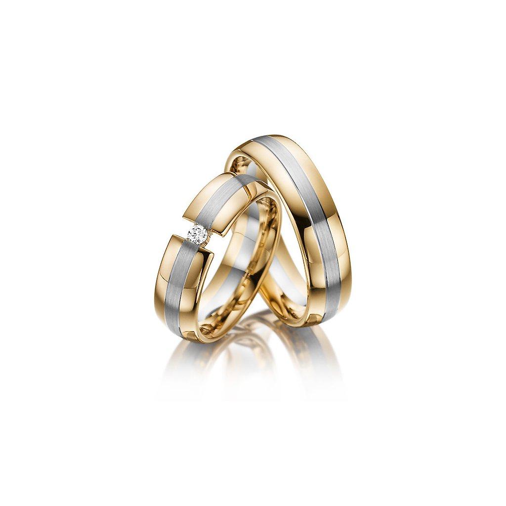 Snubní prsten – model a13ab