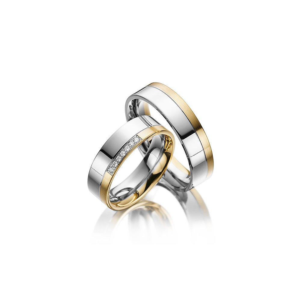 Snubní prsten – model 17ab