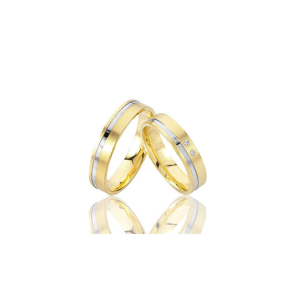 Snubní prsten – model 18ba