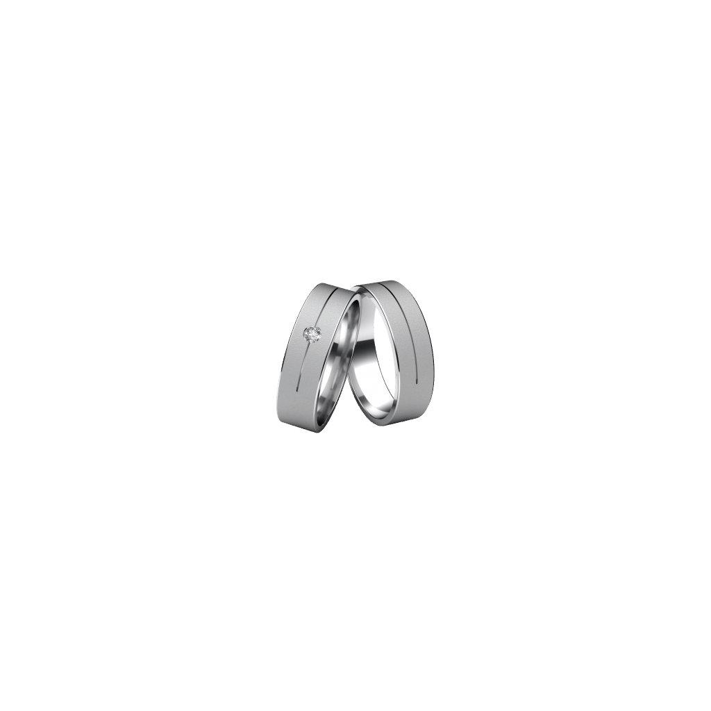 Snubní prsten – model a20a