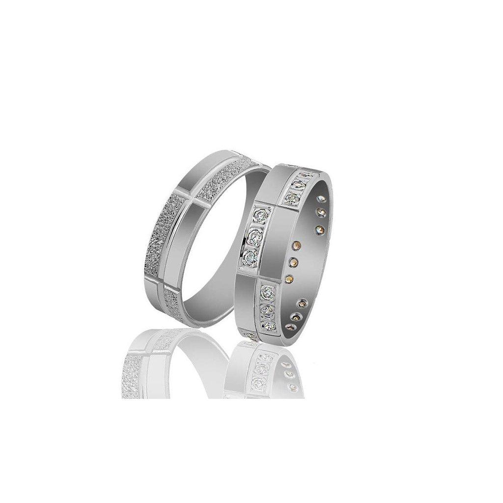 Snubní prsten – model 21a