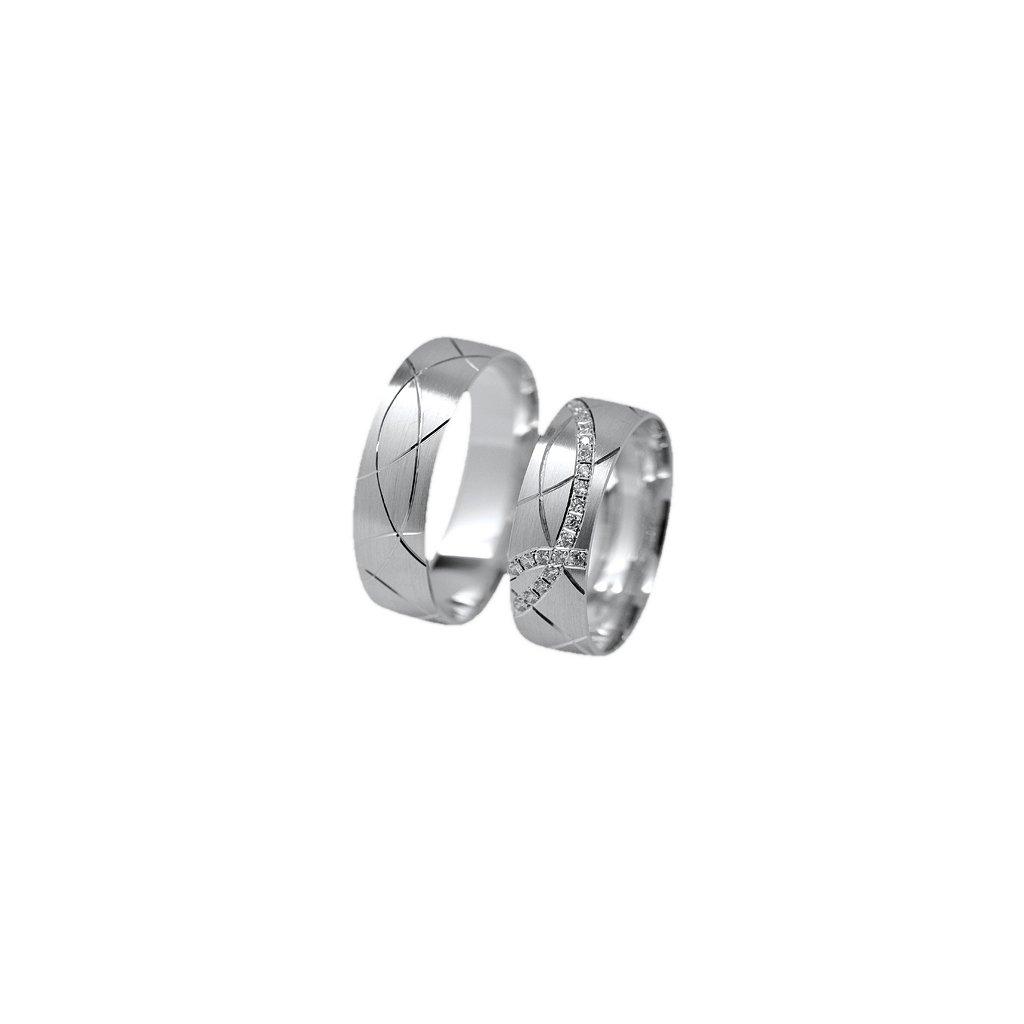 Snubní prsten – model 36a