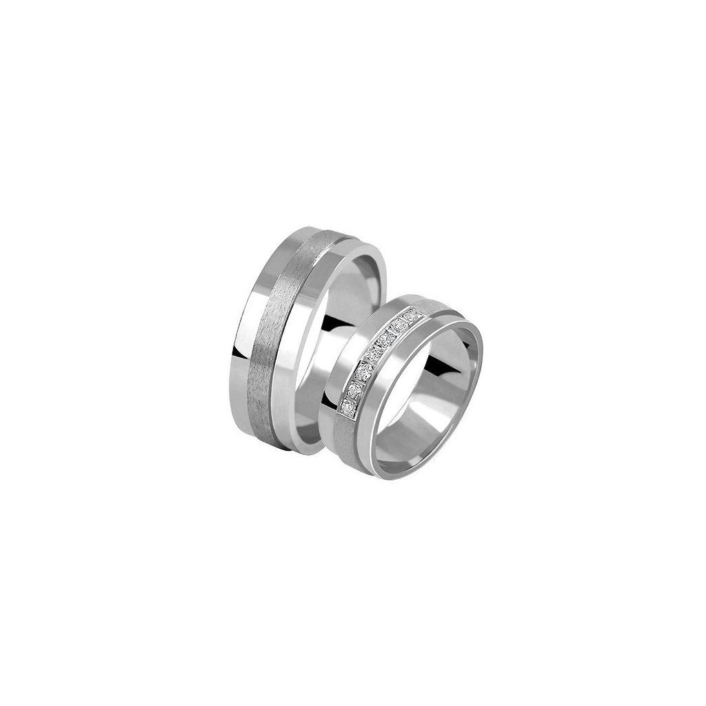 Snubní prsten – model 58