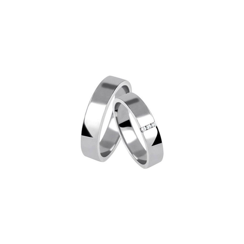 Snubní prsten – model 60