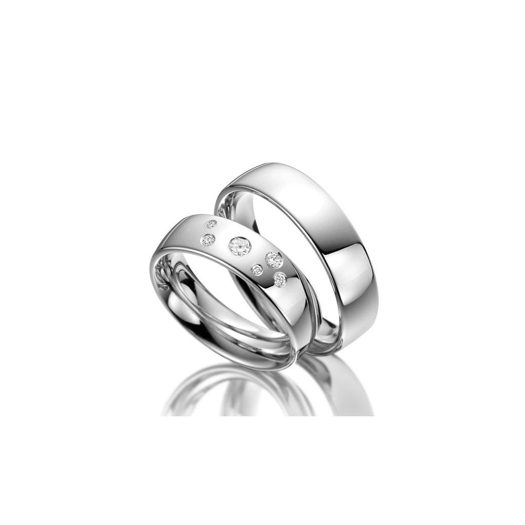 Snubní prsten – model 61