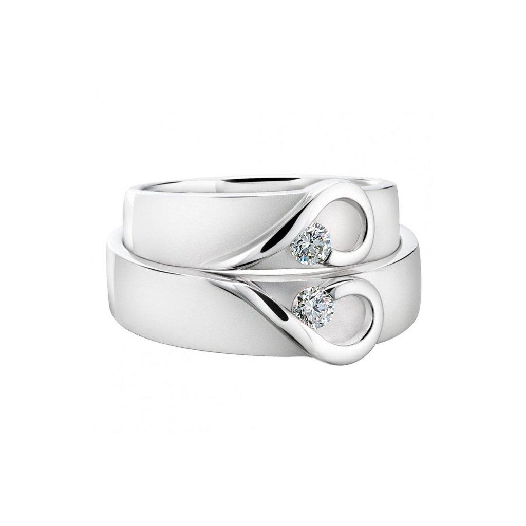 Snubní prsten – model 62a