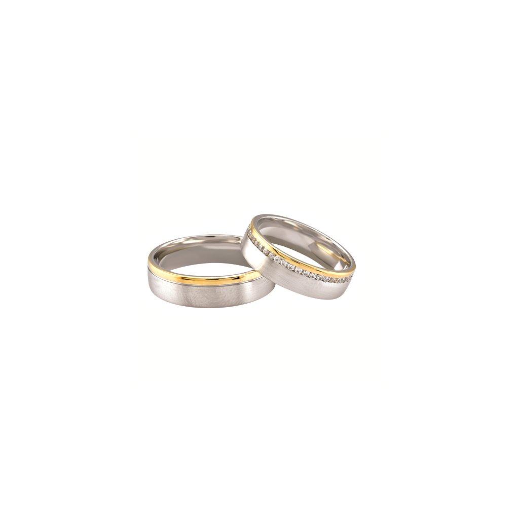 Snubní prsten – model 68ab