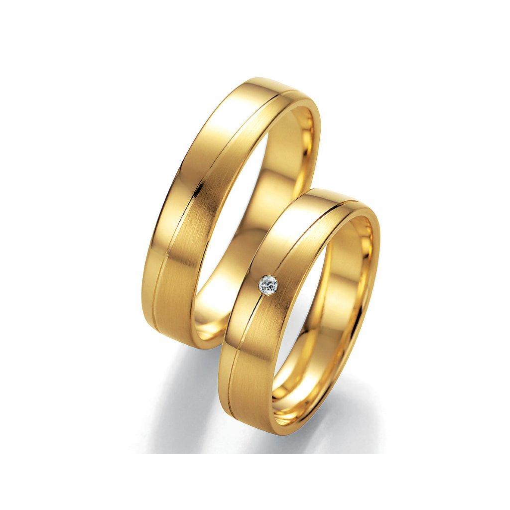 Snubní prsten – model 75