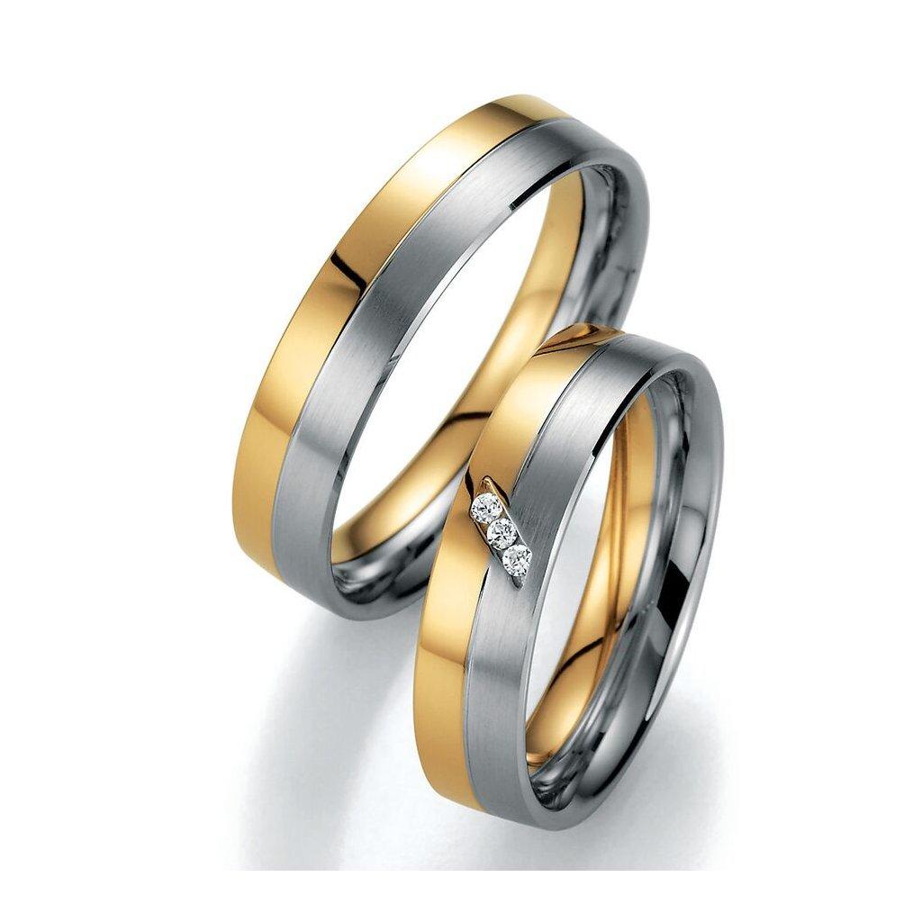 Snubní prsten – model 76