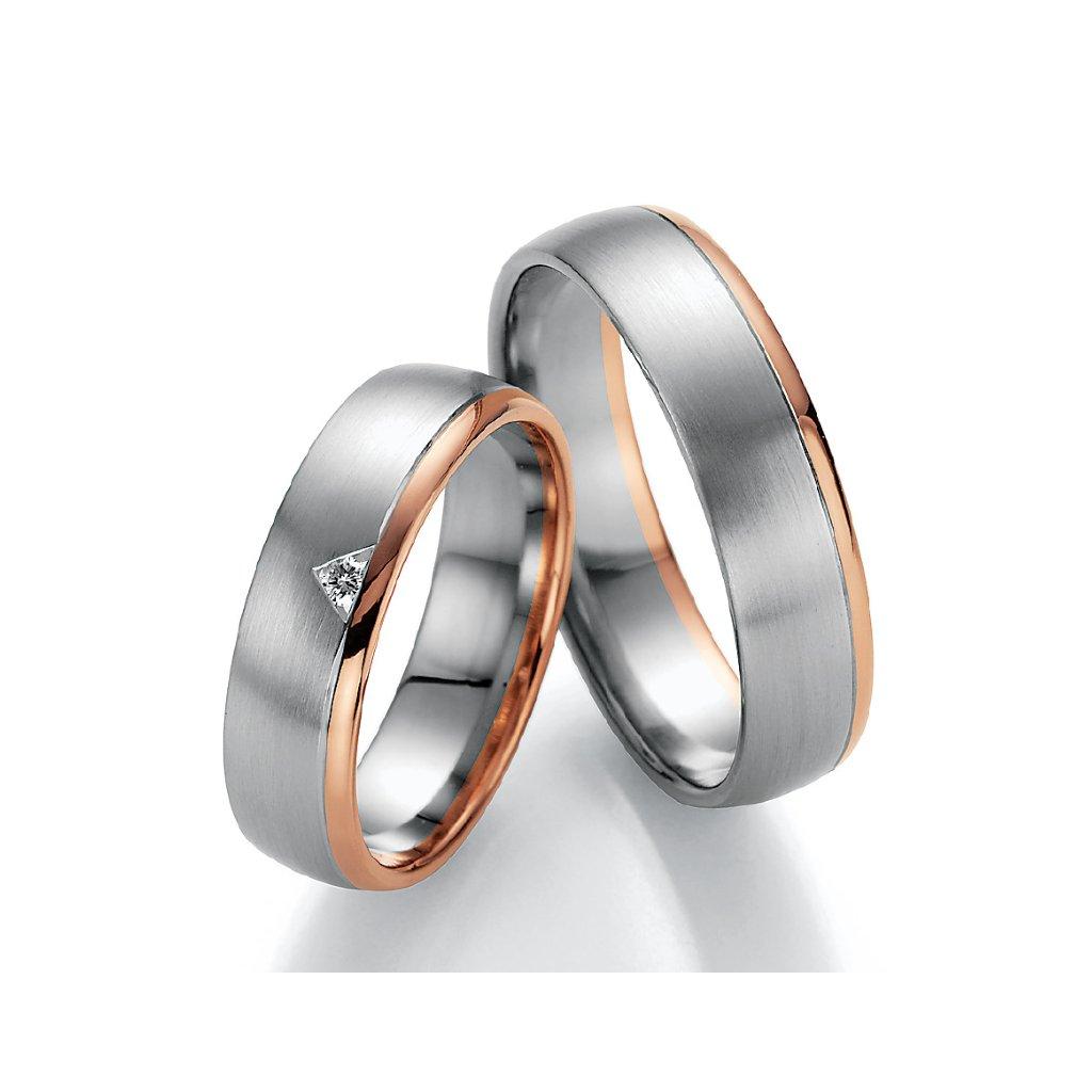 Snubní prsten – model 77