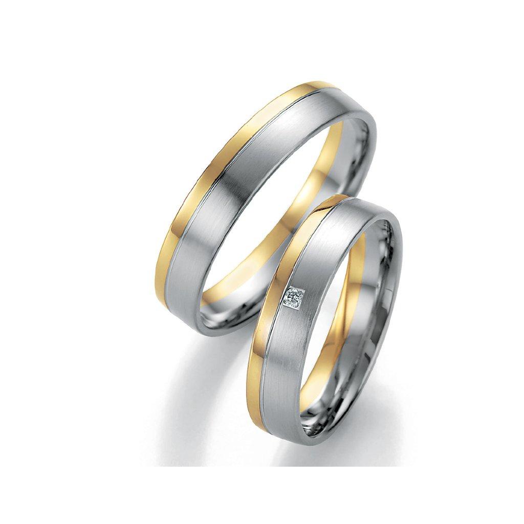 Snubní prsten – model 80