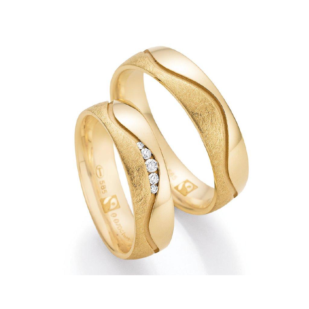 Snubní prsten – model 81