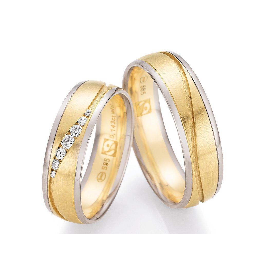 Snubní prsten – model 84
