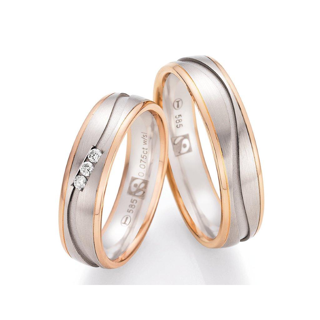 Snubní prsten – model 85