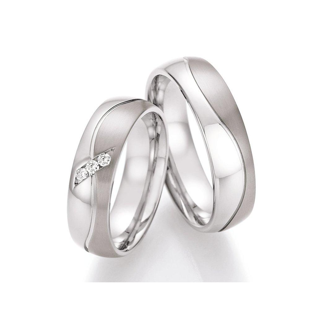 Snubní prsten – model 87