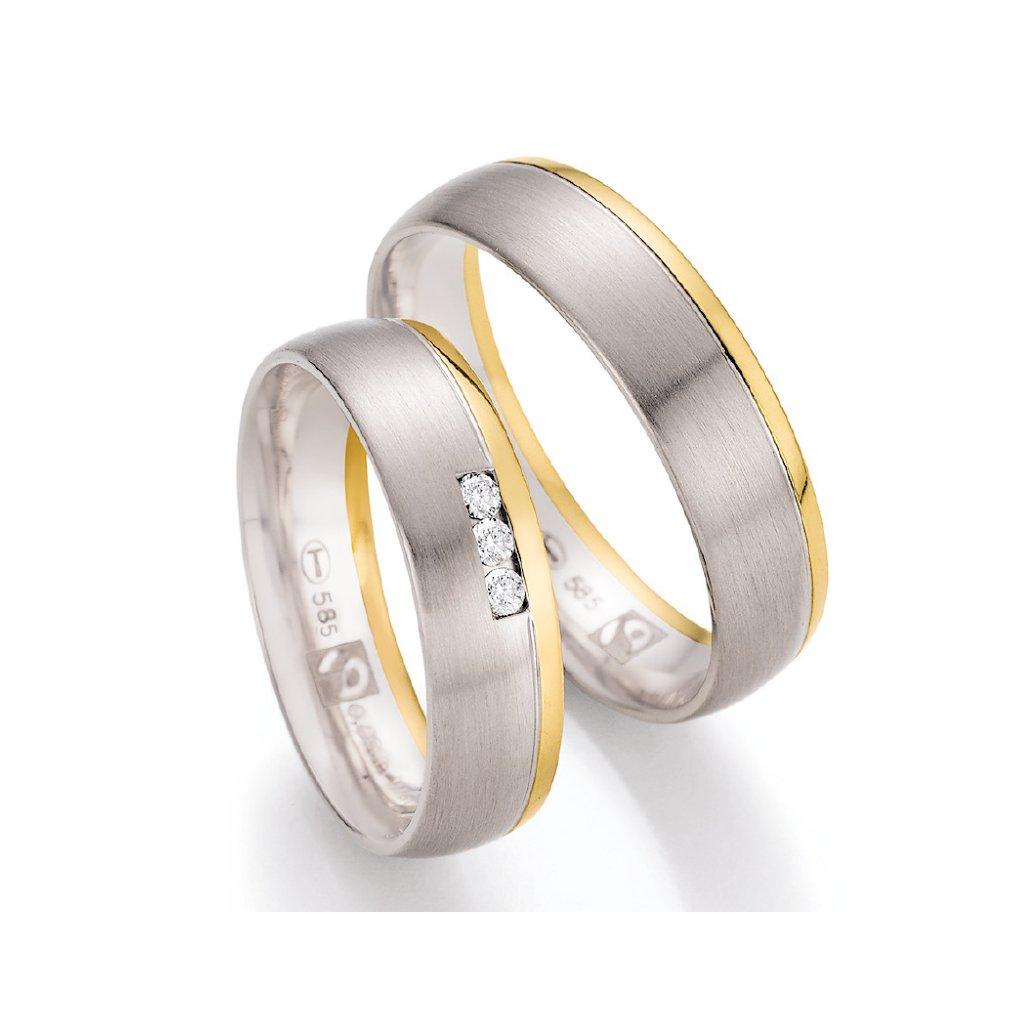 Snubní prsten – model 90