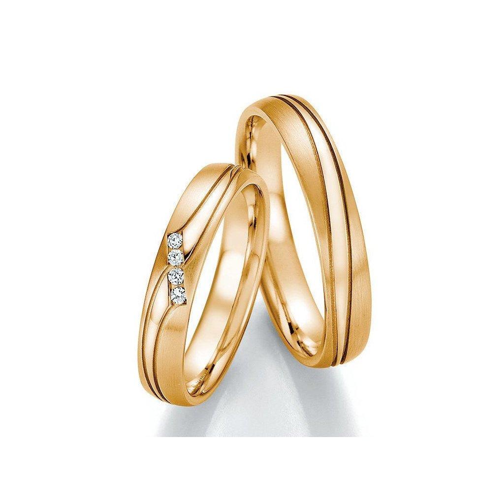 Snubní prsten – model 92