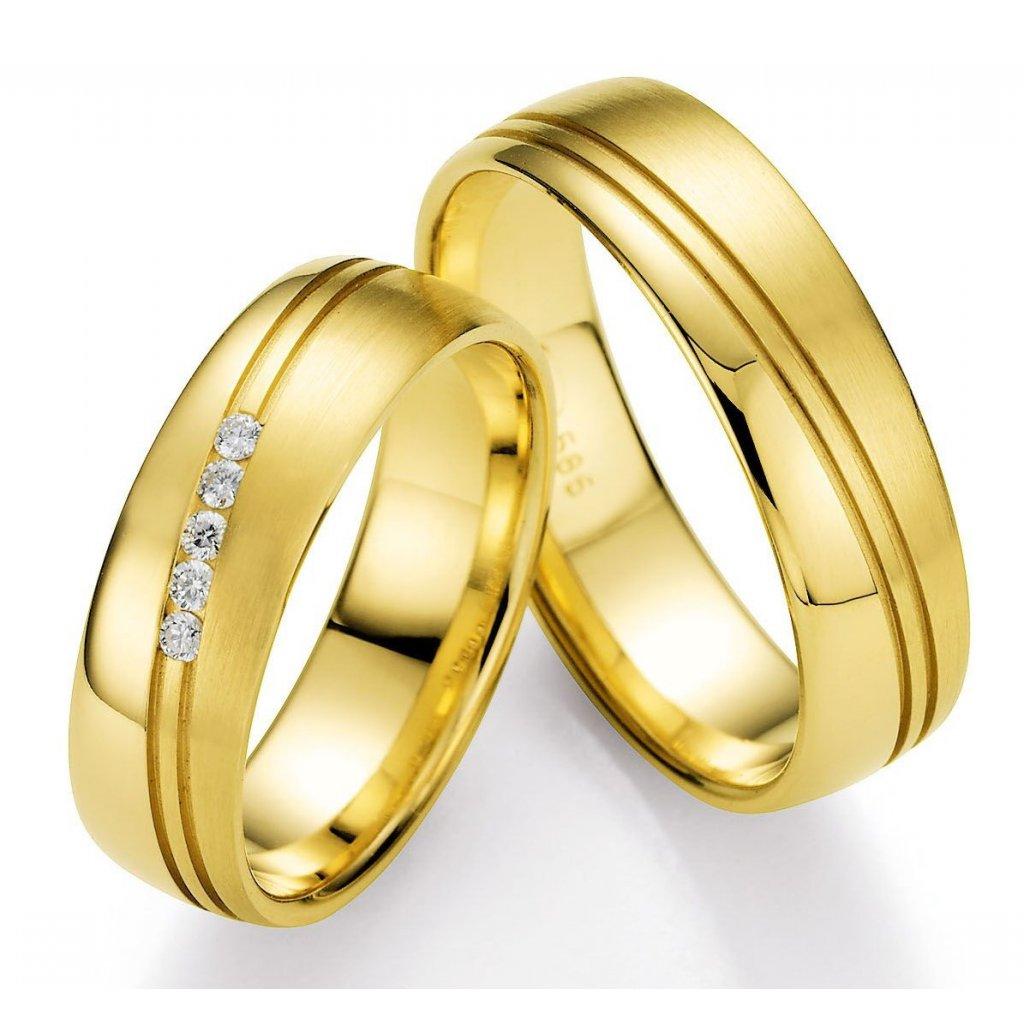 Snubní prsten – model 93