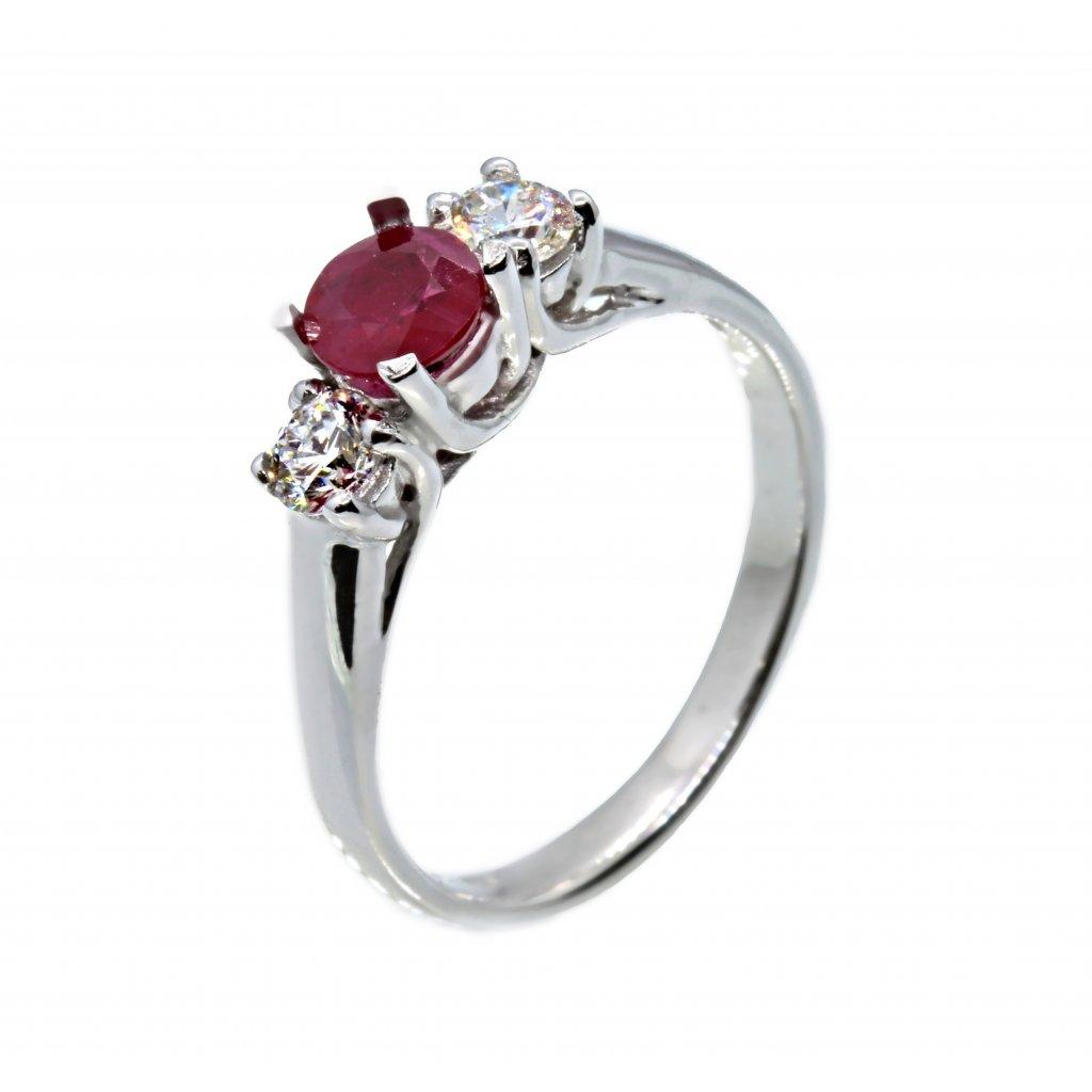 Zásnubní prsten Alegra Ruby