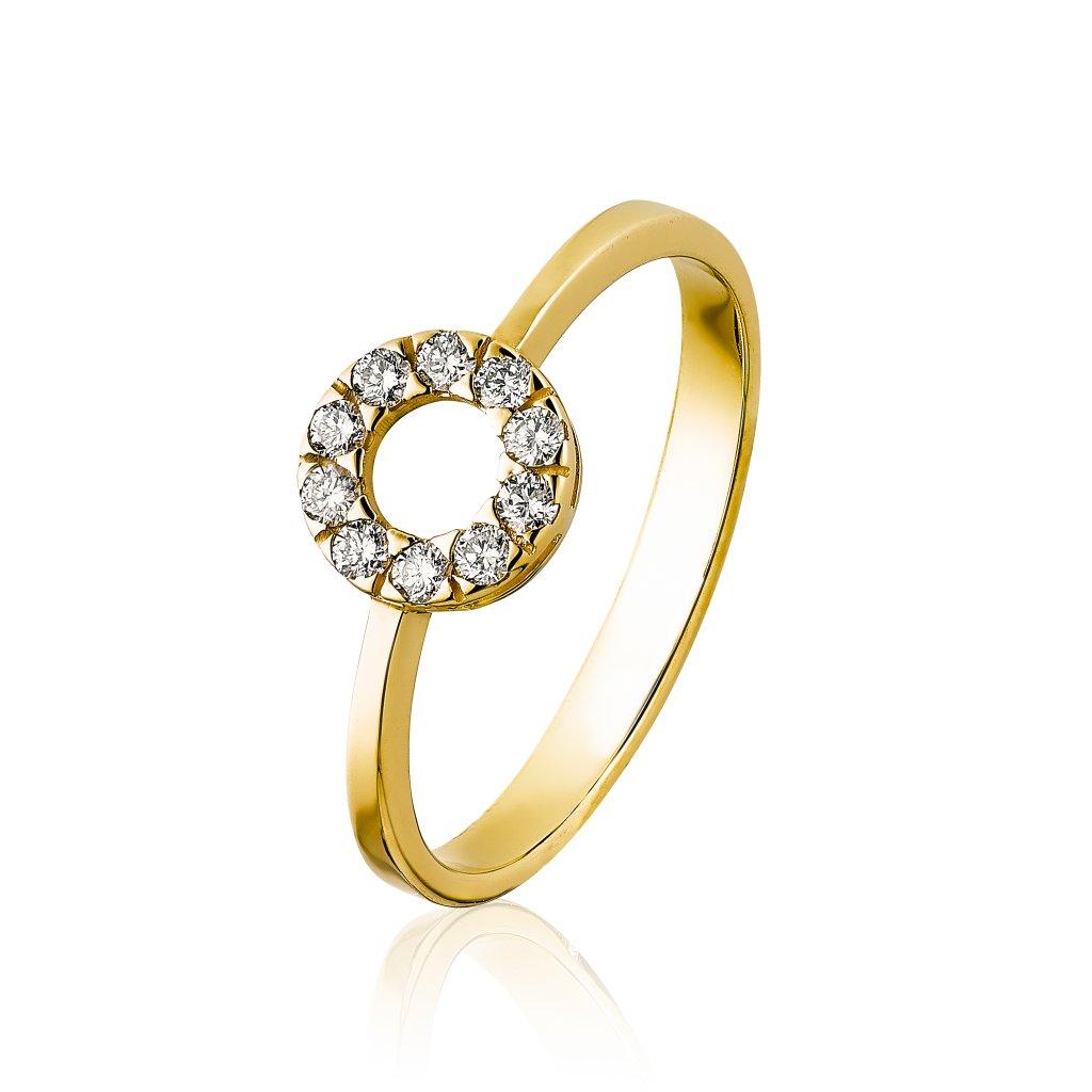 Prsten zlaty